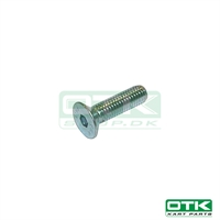 Counter sunk Bolt, M8 x 25mm
